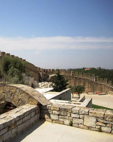 Photograph - Obidos Fortified Wall Portugal by John Shiron