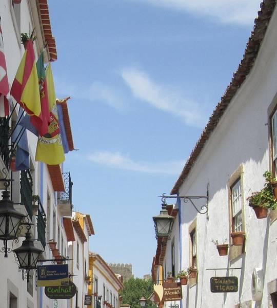 Photograph - Obidos Street IIi Portugal by John Shiron