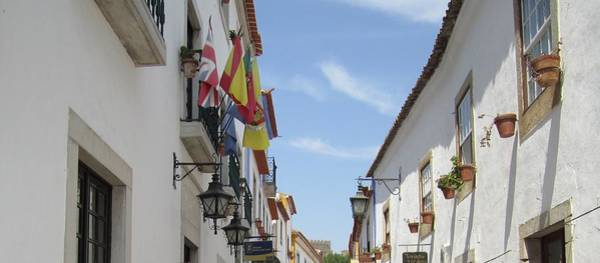 Photograph - Obidos Street Iv Portugal by John Shiron