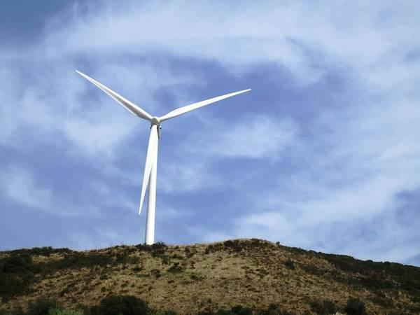 Photograph - Obidos Wind Turbine IIi Portugal by John Shiron