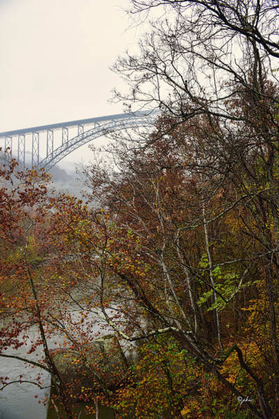 Photograph - Obscured Bridge by Paulette B Wright