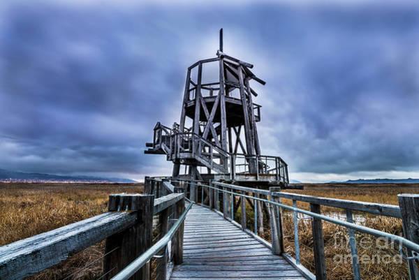 Observation Tower - Great Salt Lake Shorelands Preserve Art Print