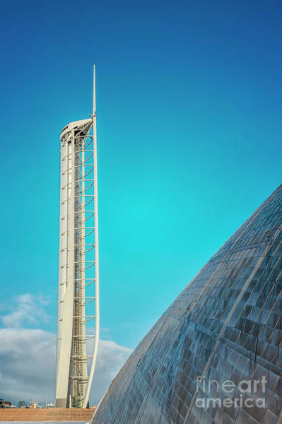 Wall Art - Photograph - Observation Tower In Glasgow by Antony McAulay
