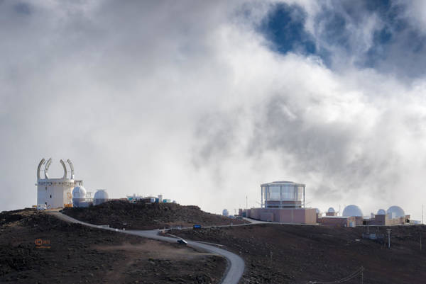 Photograph - Observatories At The Summit Of Mount Haleakala by Jim Thompson