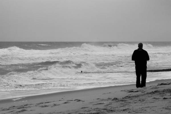 Photograph - Observing - Jersey Shore by Angie Tirado