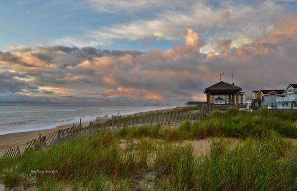 Photograph - Obx Sunrise 2016 by Barbara Ann Bell