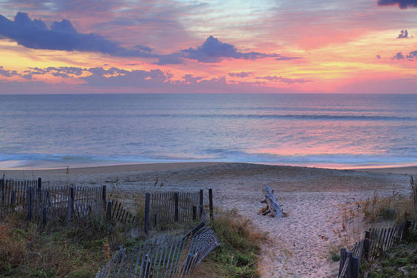Outer Banks Wall Art - Photograph - Obx Sunrise by Lori Deiter