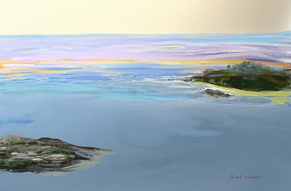 Digital Art - Ocean 2 by Kae Cheatham