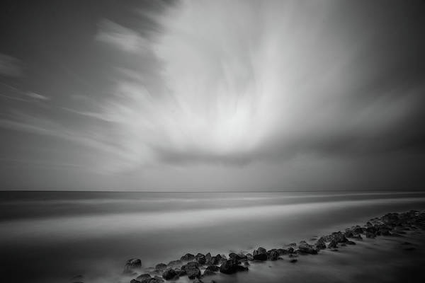 Photograph - Ocean And Clouds by Todd Aaron