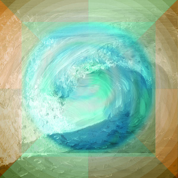 Ocean And Earth Art Print
