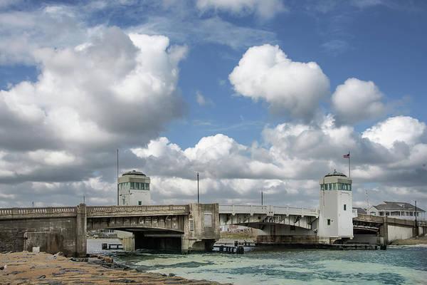 Photograph - Ocean Avenue Bridge On Early Fall Day by Gary Slawsky
