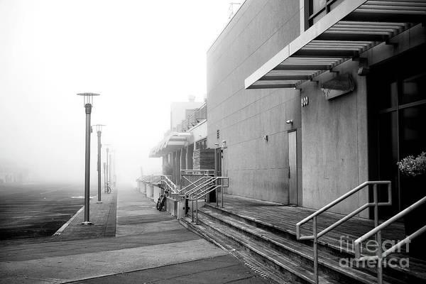 Wall Art - Photograph - Ocean Avenue Fog by John Rizzuto