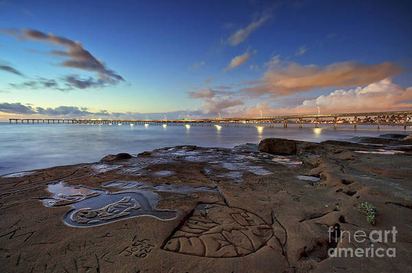 Photograph - Ocean Beach Pier At Sunset, San Diego, California by Sam Antonio Photography