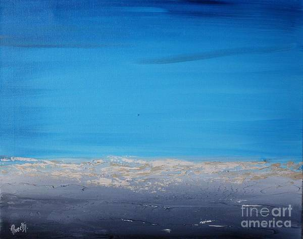 Painting - Ocean Blue 2 by Preethi Mathialagan