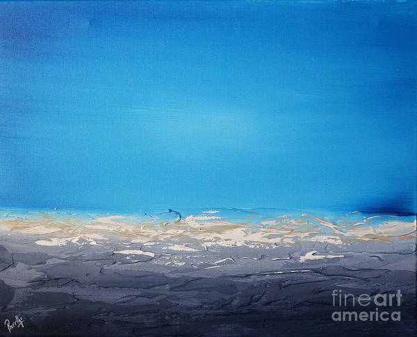 Painting - Ocean Blue 4 by Preethi Mathialagan