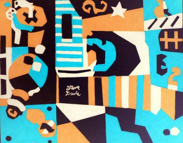 Ocean Blue Art Print by Stephen Davis