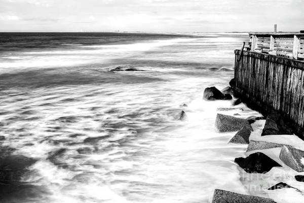 Wall Art - Photograph - Ocean Calm At Long Beach Island by John Rizzuto