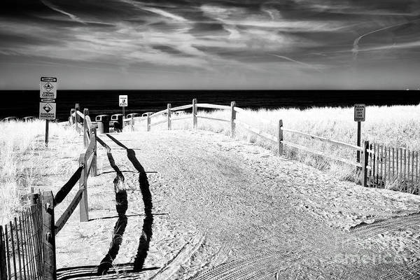 Wall Art - Photograph - Ocean City Beach Entry by John Rizzuto