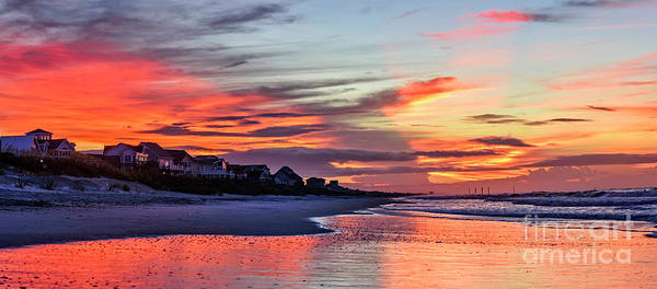 Photograph - Ocean City Glow by DJA Images