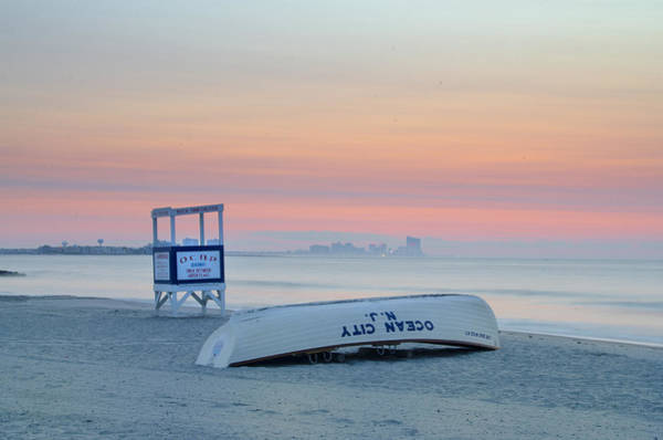 Digital Art - Ocean City New Jersey Before Sunrise by Bill Cannon