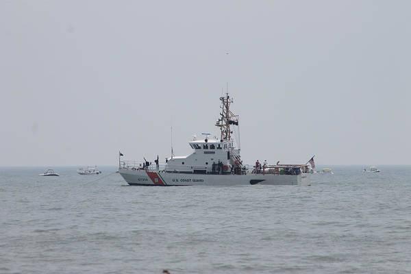 Photograph - Ocean City's Us Coast Guard On Patrol by Robert Banach
