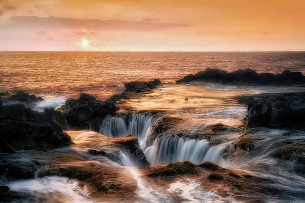 Rock Island Line Photograph - Ocean Escape by Nicki Frates