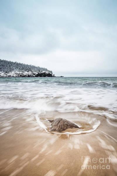 New England Coast Wall Art - Photograph - Ocean Flows by Evelina Kremsdorf