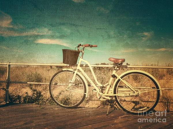 Photograph - Ocean Grove Bicycle by Eleanor Abramson