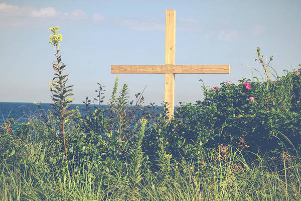 Photograph - Ocean Grove Cross by Eleanor Abramson