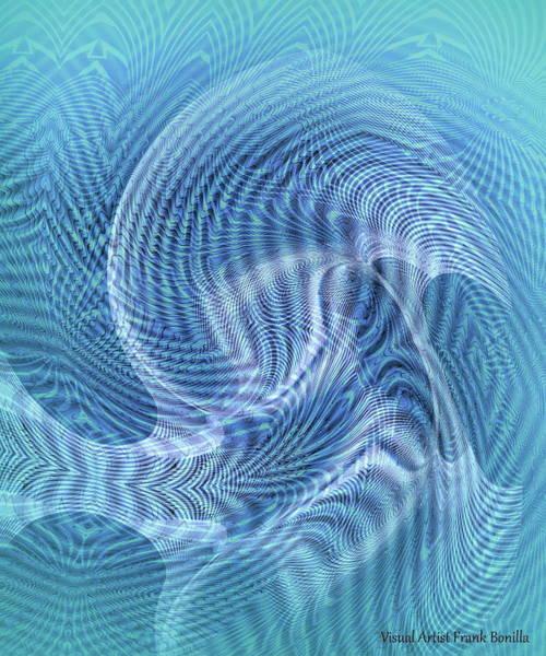 Digital Art - Ocean II by Visual Artist Frank Bonilla