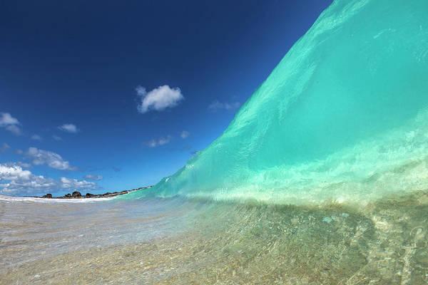 Wall Art - Photograph - Ocean Jello by Sean Davey