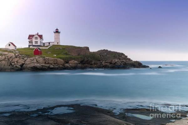 Wall Art - Photograph - Ocean Lighthouse Sunset by DAC Photo