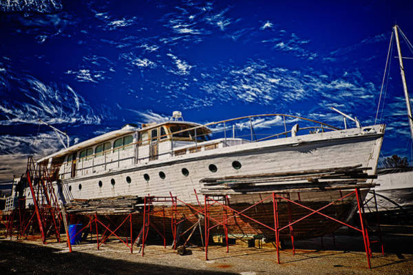 Photograph - Ocean Liner by Louis Dallara