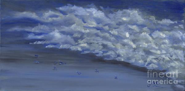 Wall Art - Painting - Ocean Morning by Gloria Condon