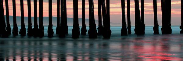 Photograph - Ocean Pier Panoramic - Pismo Beach California  by Gregory Ballos
