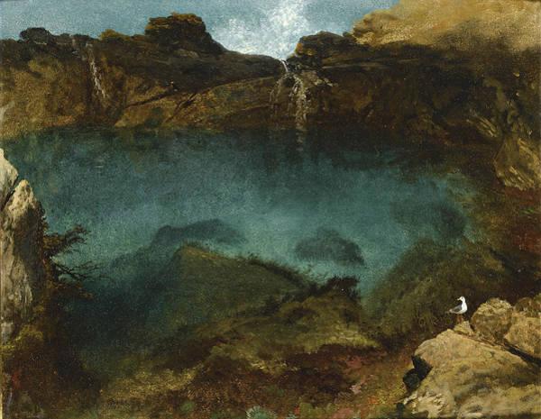 Farallon Islands Painting - Ocean Pool Farallon Islands California by Albert Bierstadt