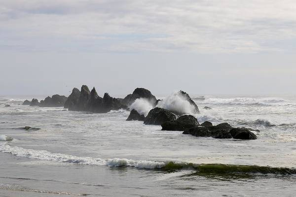 Photograph - Ocean Rocks  by Christy Pooschke