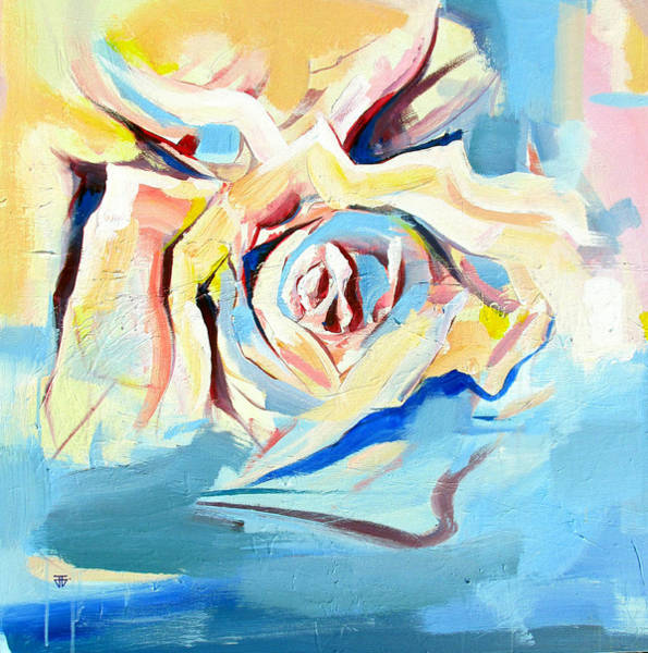 Painting - Ocean Rose by John Jr Gholson