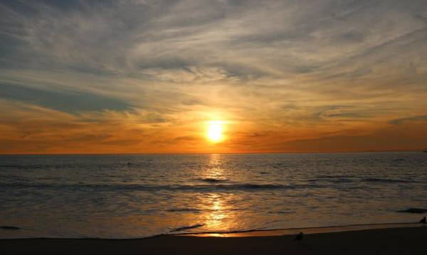 Photograph - Ocean Sunset - 8 by Christy Pooschke