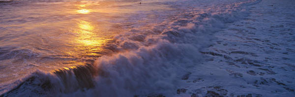 Ventura Photograph - Ocean Surf by Panoramic Images