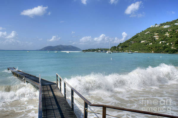 Photograph - Ocean Swell In Tortola by David Birchall