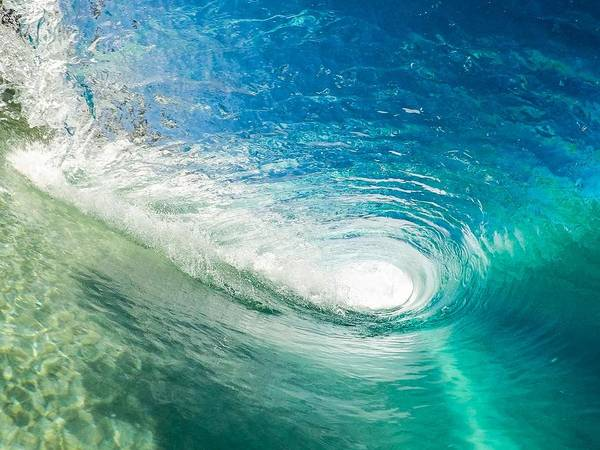 Painting - Ocean Swirl by Joy of Life Arts Gallery