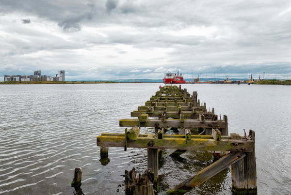 Photograph - Ocean Terminal In Leith by Jeremy Lavender Photography