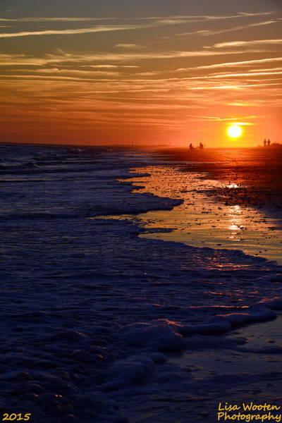Photograph - Ocean Twilight  by Lisa Wooten