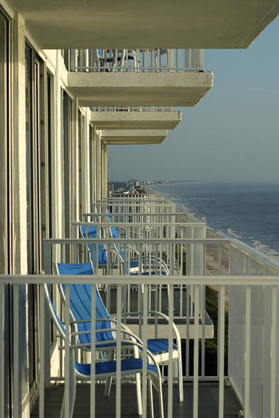 Photograph - Ocean View Balconies - Melbourne Fl by Frank Mari