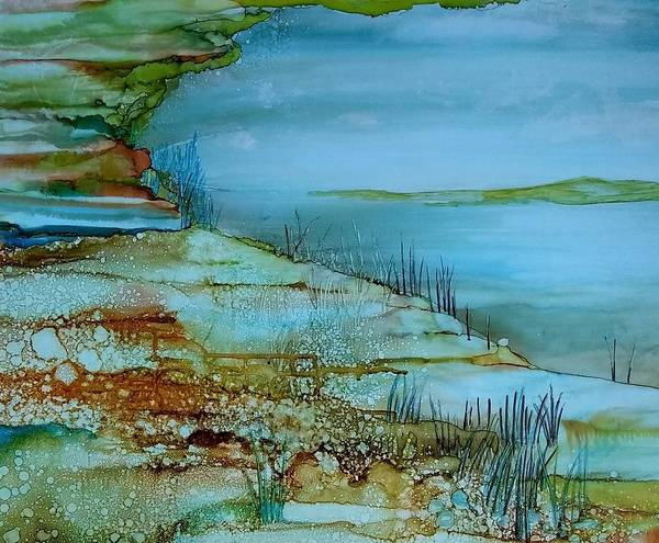 Painting - Ocean View by Betsy Carlson Cross