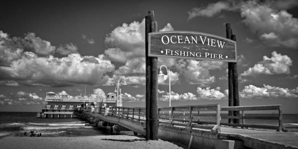 Photograph - Ocean View Fishing Pier by Williams-Cairns Photography LLC