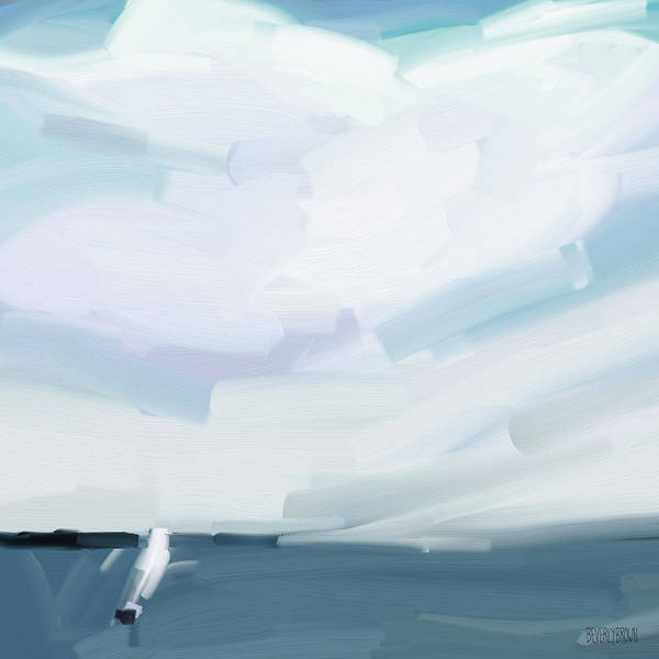 Wall Art - Painting - Ocean View From Fire Island by Beverly Brown