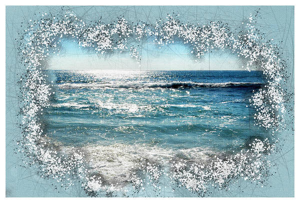 Wall Art - Mixed Media - Ocean View  by Melissa Smith