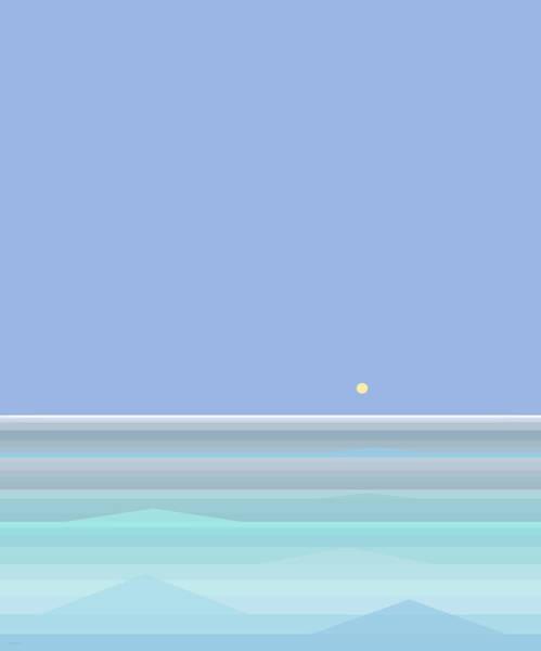 Digital Art - Ocean View by Val Arie